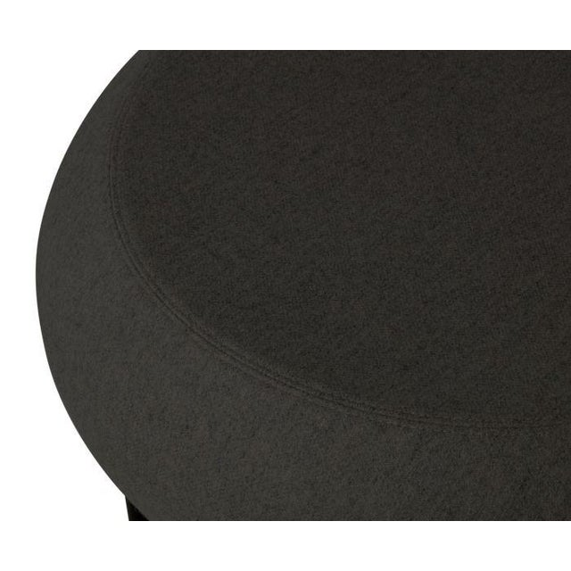 Tom Dixon Fat Lounge Chair Mollie Melton Black For Sale In Los Angeles - Image 6 of 9