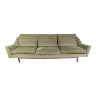 Large Jens Risom Sofa For Sale
