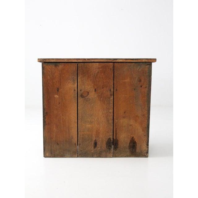 Cottage Antique Primitive Cupboard Cabinet For Sale - Image 3 of 11 - Antique Primitive Cupboard Cabinet Chairish