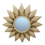 Image of Made Goods Marten Sunburst Mirror For Sale