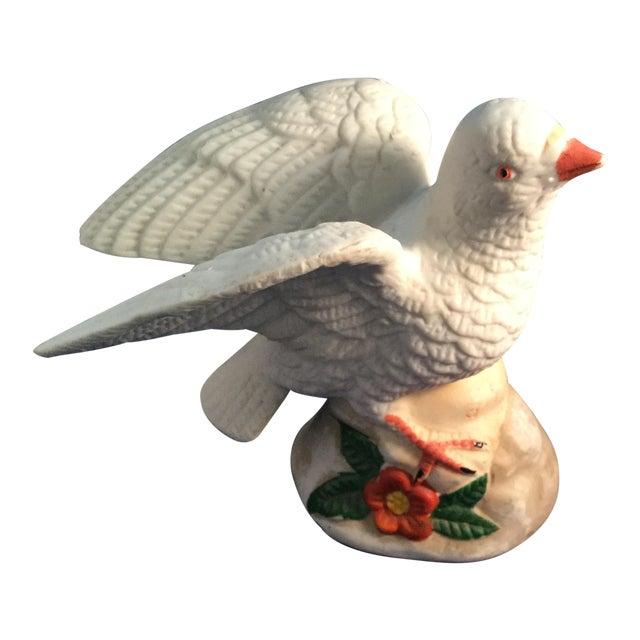 Ceramic Dove of Peace Porcelain Figurine For Sale