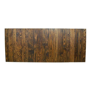 Dark Walnut Stain King/California King Headboard Hanger Style