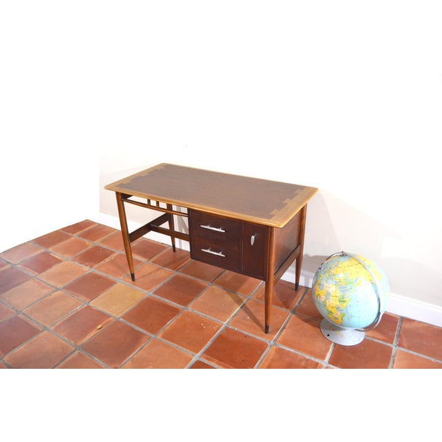 Mid Century Modern Desk by Lane Acclaim For Sale - Image 12 of 12