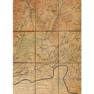 Broadalbin New York 1902 Us Geological Survey Folding Map For Sale