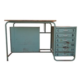 Fantastic Bauhaus Style Drafting Desk For Sale