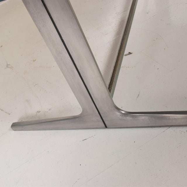 Aluminum Rare Mid Century Modern Action Desk by George Nelson & Robert Propst Herman Miller For Sale - Image 7 of 10