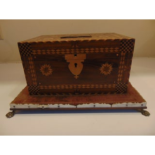 American Folk Art Jewelry or Sewing Box Preview
