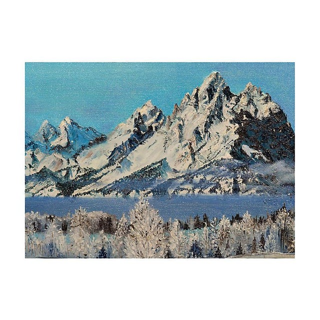 Modern Snowy Rugged Peaks For Sale - Image 3 of 5