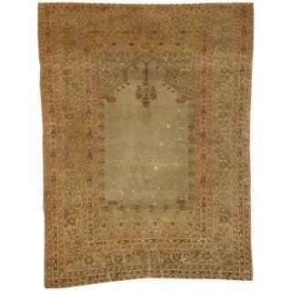 20th Century Turkish Sivas Prayer Rug - 49ʺW × 65ʺD For Sale