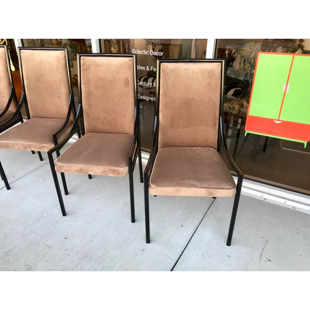 Mid-Century Modern Restored Mid-Century Dining Chairs, Set of 4 For Sale - Image 3 of 11