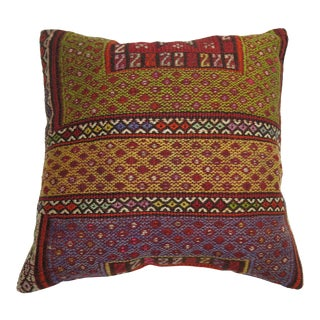 Moroccan Rug Pillow For Sale