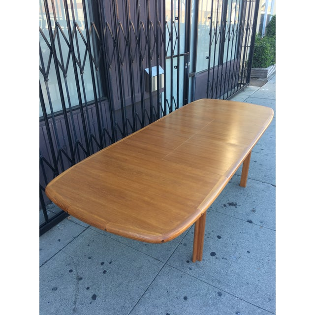 Diethelm Scanstyle Danish Modern Butterfly Dining Table in Teak For Sale - Image 4 of 13