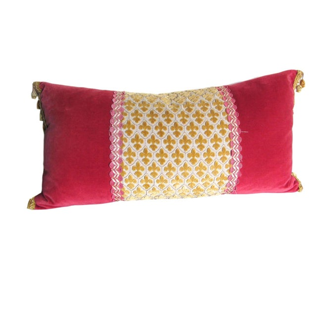 JoAnna Poitier Refurbished Vintage Pillow - Image 1 of 7