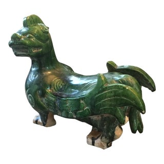 1960s Vintage Old Dragon Pottery For Sale