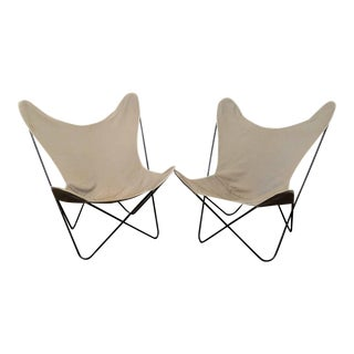 1960s Vintage Butterfly Chairs - a Pair For Sale