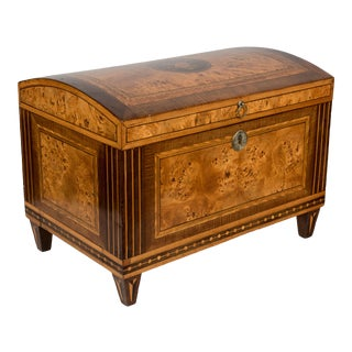19th Century Italian Marquetry Box For Sale