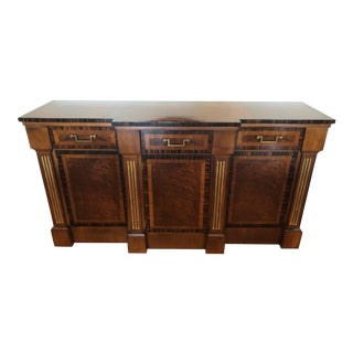 Hollywood Regency Baker Furniture Buffet For Sale
