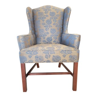 Baker Furniture Milling Road Wingback Chair For Sale