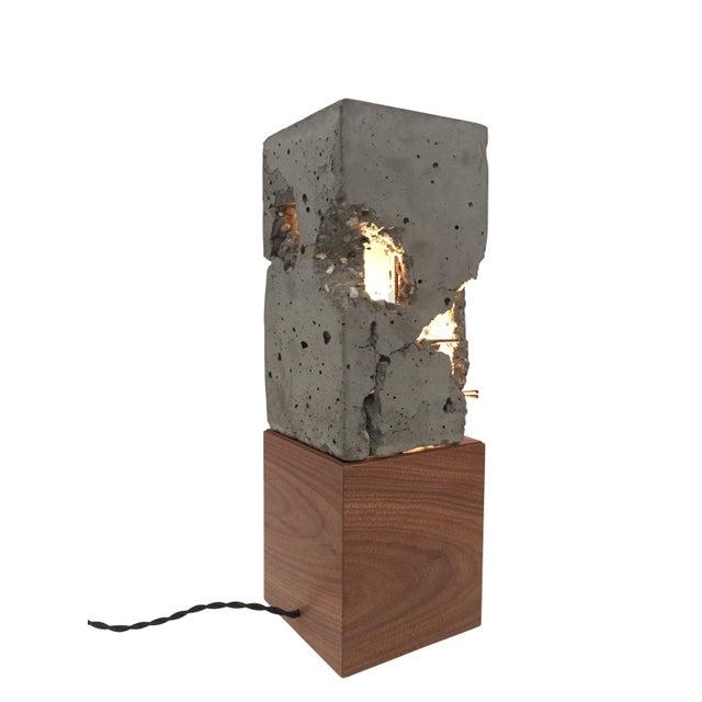 Brown Walnut Wood Tabletop Scarpa Light For Sale - Image 8 of 9