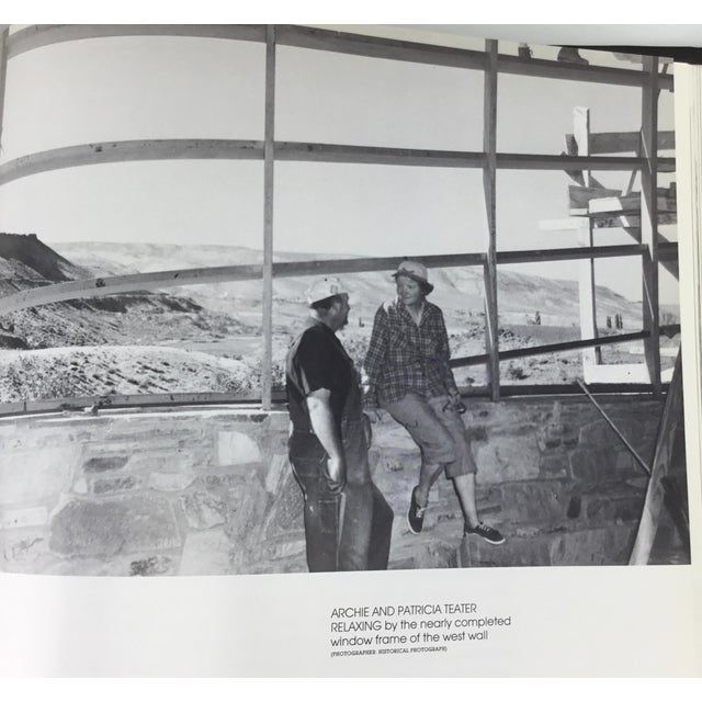 Blue Frank Lloyd Wright Rare Teater's Knoll Book by Henry Whiting For Sale - Image 8 of 13