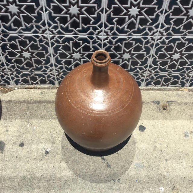 Vintage French Pottery Jug For Sale In Los Angeles - Image 6 of 6
