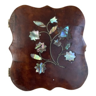 Victorian Tortoise Shell and Mother of Pearl Daguerrotype Case For Sale