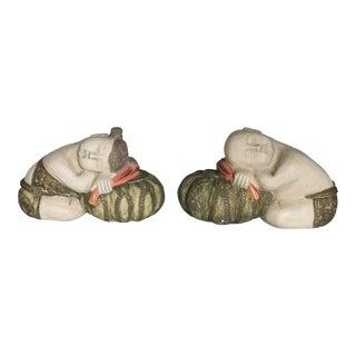 Sleeping Asian Figurines For Sale