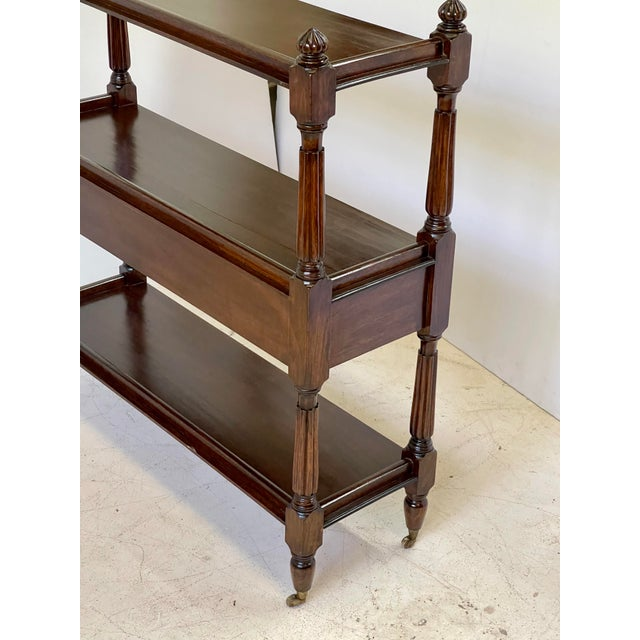 English Regency Trolley of Mahogany For Sale - Image 10 of 13