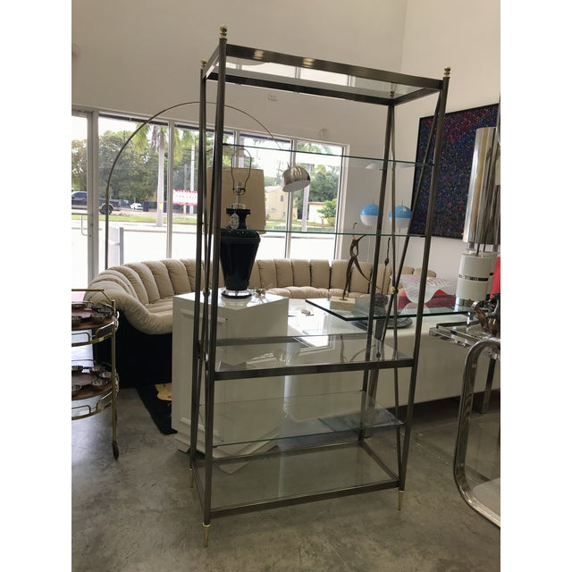 Dia Etagere with Glass Shelves For Sale - Image 13 of 13
