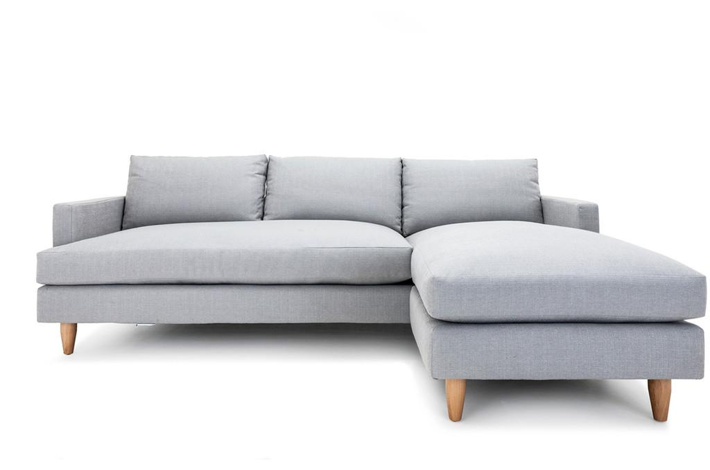 Clad Home Sectional Sofa With Reversible Chaise   Image 2 Of 4