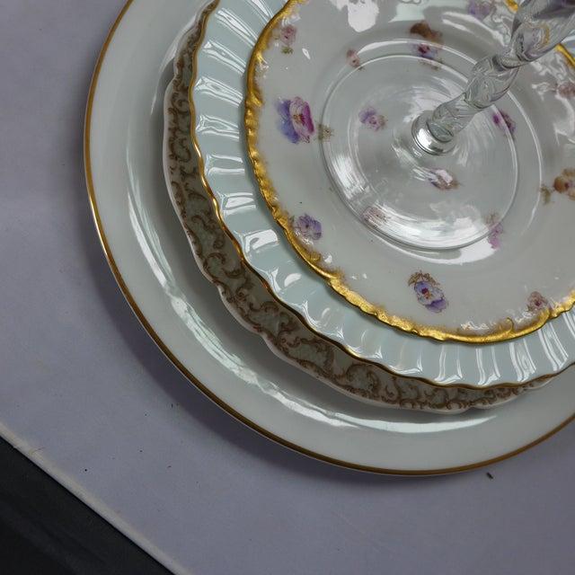 Vintage Mismatched Dinner Setting - Set of 5 For Sale - Image 4 of 9