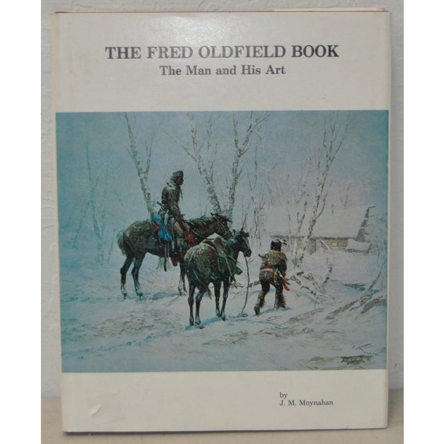 Illustration The Fred Oldfield Book with Original Drawing & Inscription For Sale - Image 3 of 4