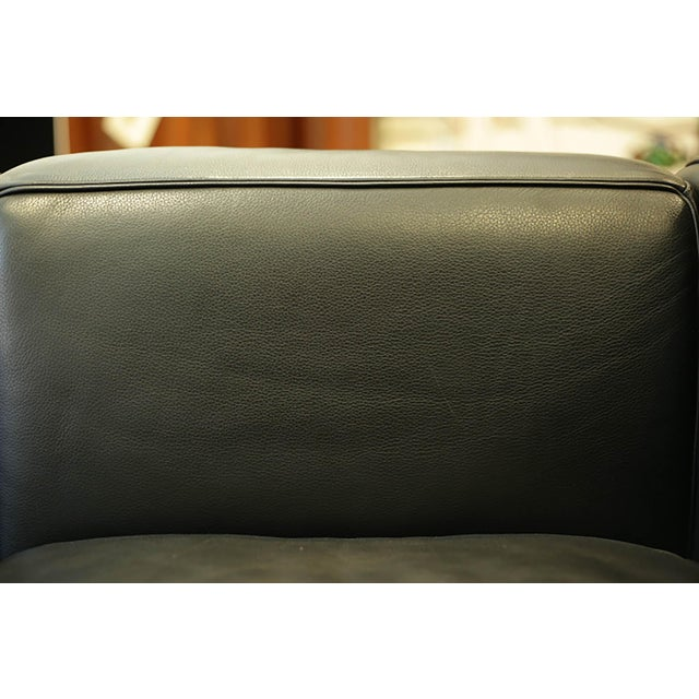 Lc2 Petit Modele Three-Seat Sofa Designed by Le Corbusier for Cassina For Sale - Image 10 of 12