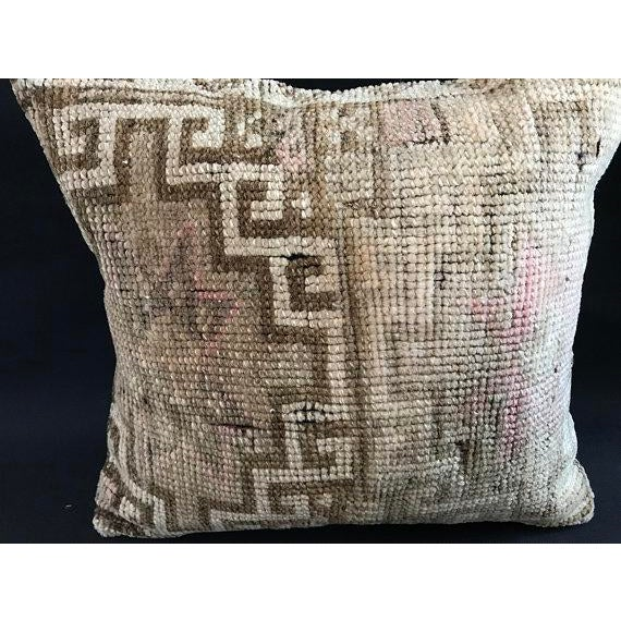 Textile Anatolian Handwoven Vintage Pillowcase For Sale - Image 7 of 11