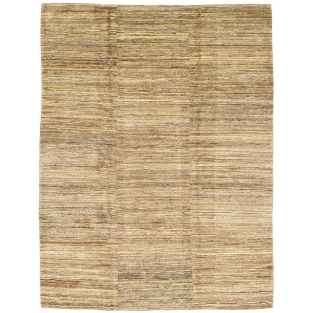 """Traditional Pasargad NY Genuine Persian Gabbeh Rug - 8′4″ × 10′11"""" For Sale"""