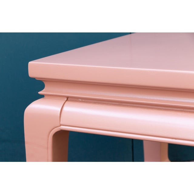 Baker Furniture Company Asian Lacquered Tables For Sale - Image 4 of 6