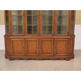 Union National Cherry Walnut Finish Breakfront Bookcase Preview