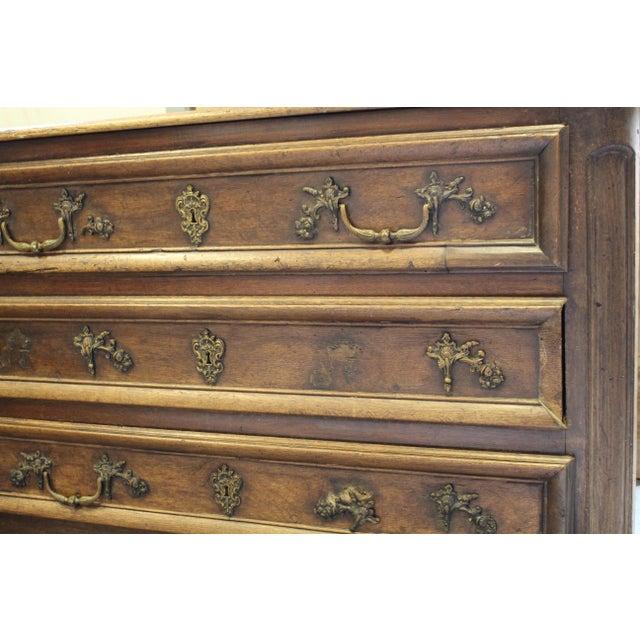 Louis XV Style Oak Commode - Image 5 of 8