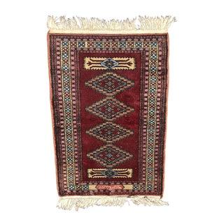 Turkish Wool Prayer Rug - 2′ × 3′2″ For Sale