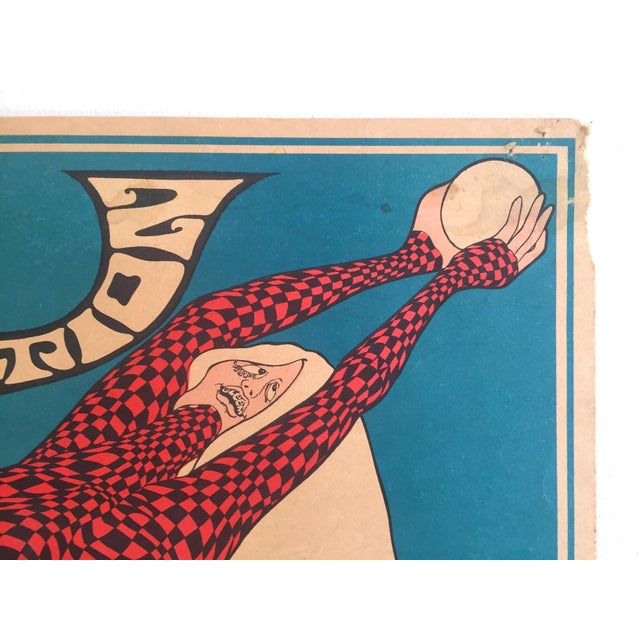 """Red John Hitesman Rare Vintage 1960's Mid Century Modern """" the Pops Generation """" Lithograph Print Collector's Op Art Poster For Sale - Image 8 of 13"""