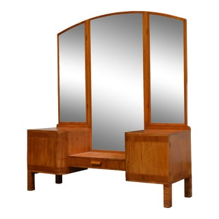 Swedish Art Deco Dressing Table Vanity For Sale