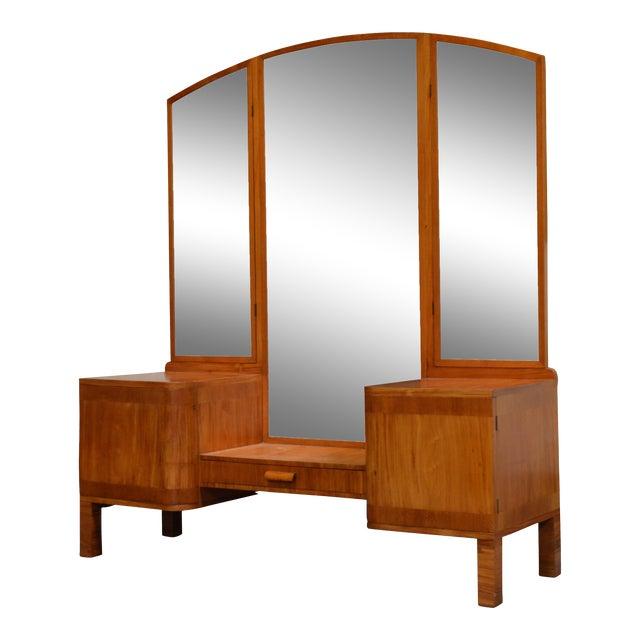 Swedish Art Deco Dressing Table Vanity For Sale