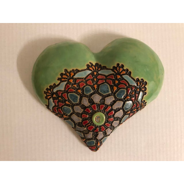 Ceramics Wall Plaque by Laurie Pollpeter Eskenazi For Sale In Monterey, CA - Image 6 of 6