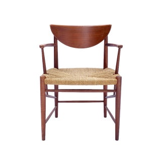 1960s Vintage Danish Teak Chair For Sale