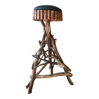 Adirondack Bar Stool For Sale
