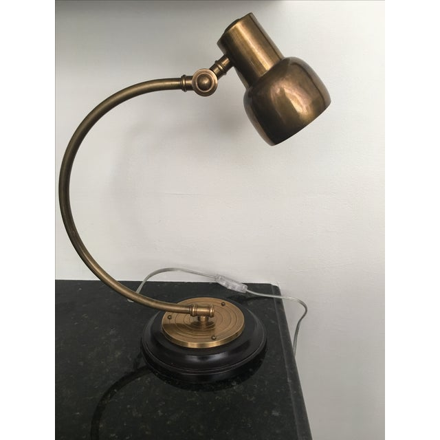 Pottery Barn Brass Directional Desk Lamp - Image 6 of 6