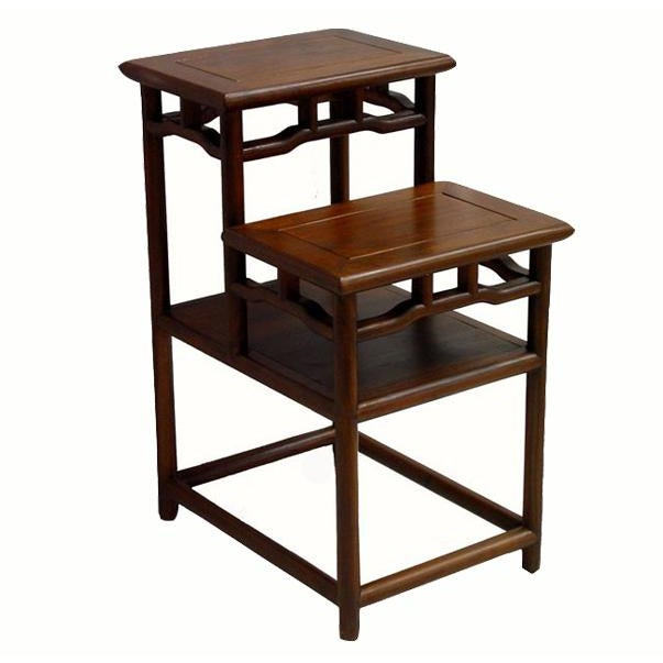 2010s Stacking Accent Tabel Made of Reclaim Wood For Sale - Image 5 of 5