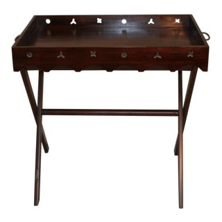 Vintage Tray Top Butler's Table