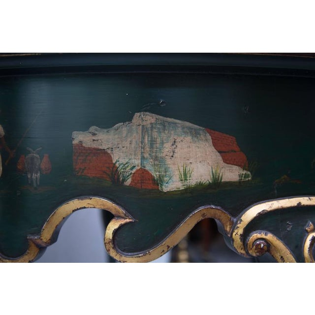 19th Century Northern Italian Painted Center Table - Image 10 of 11