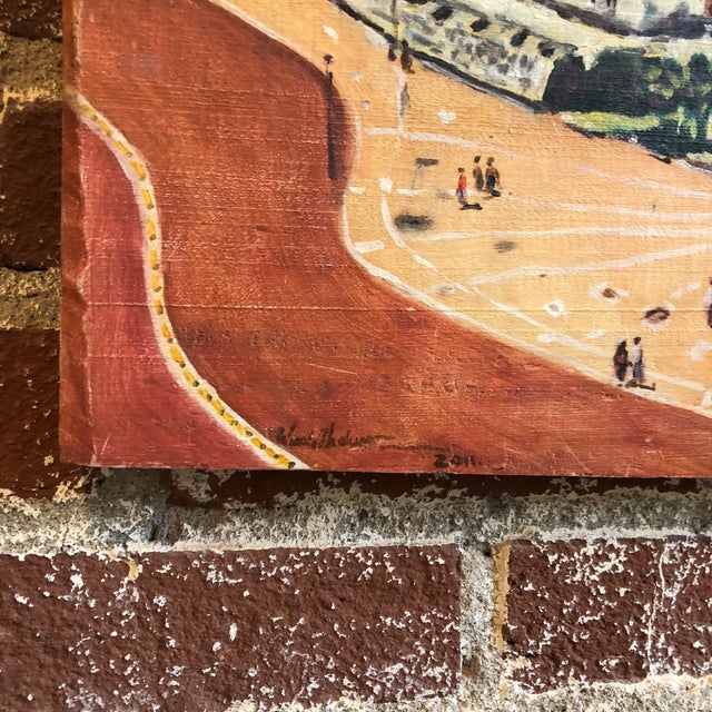 Coastal Cityscape Painting of Cartagena For Sale In Atlanta - Image 6 of 9